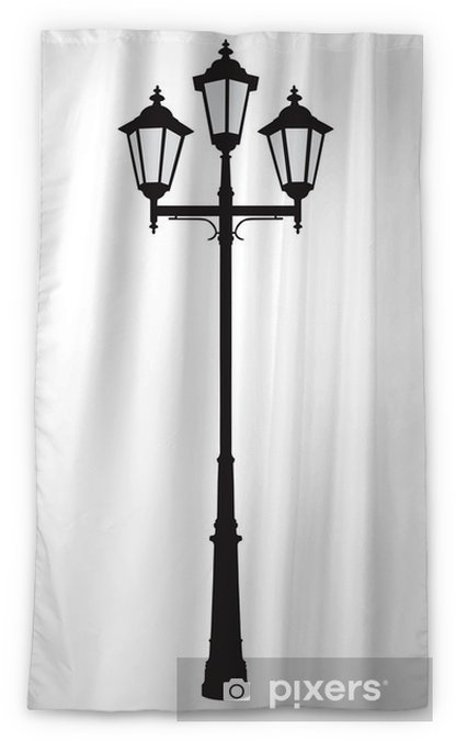 An Old Fashioned Street Lamppost Sheer
