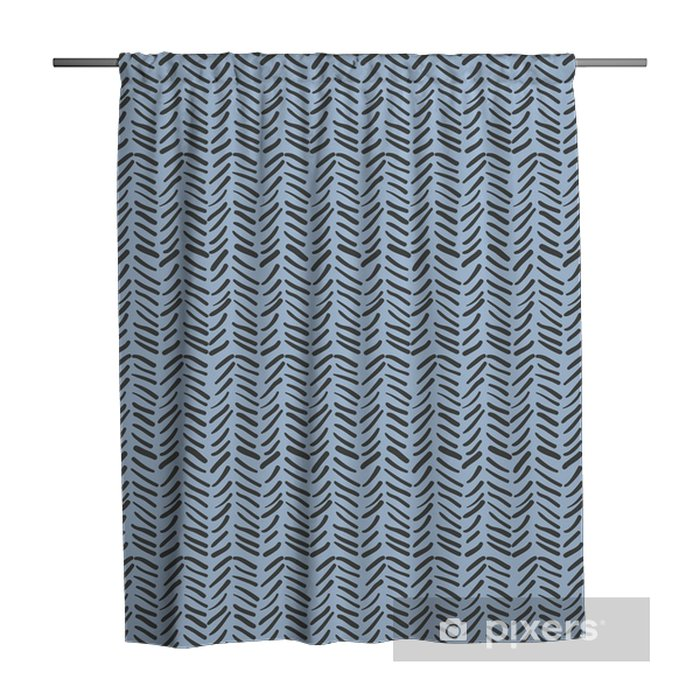 Abstract zig zag background. Shower Curtain - Graphic Resources