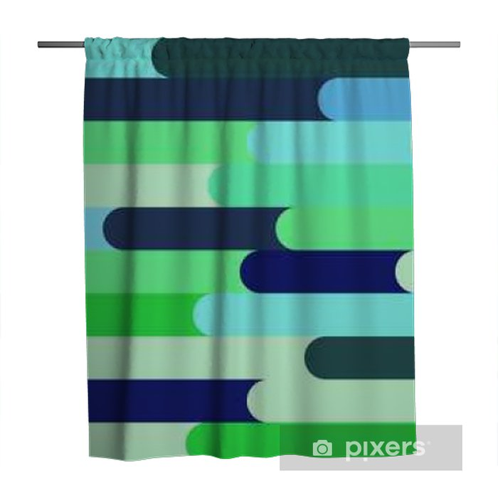 colorful bar seamless wallpaper Shower Curtain - Graphic Resources