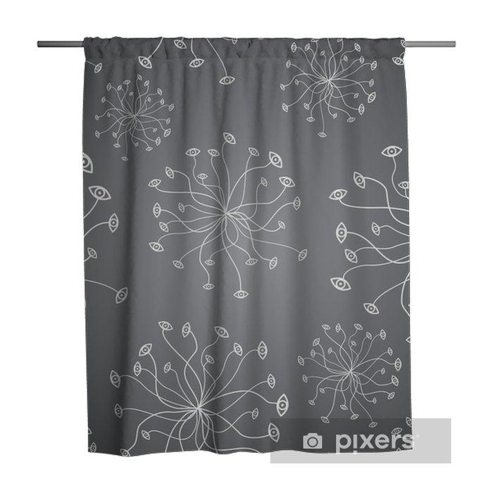 Seamless Geometric Pattern Shower Curtain