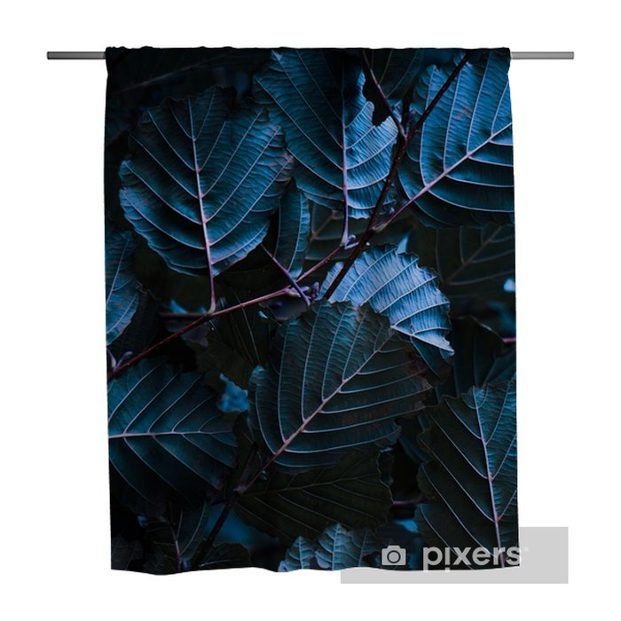the colorful leaves Shower Curtain - Plants and Flowers