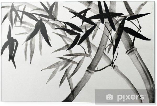 Stampa su vetro Boschetto di bambù.