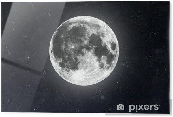 Stampa su vetro Luna