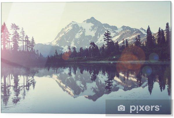 Tableau en verre Un lac pittoresque - iStaging