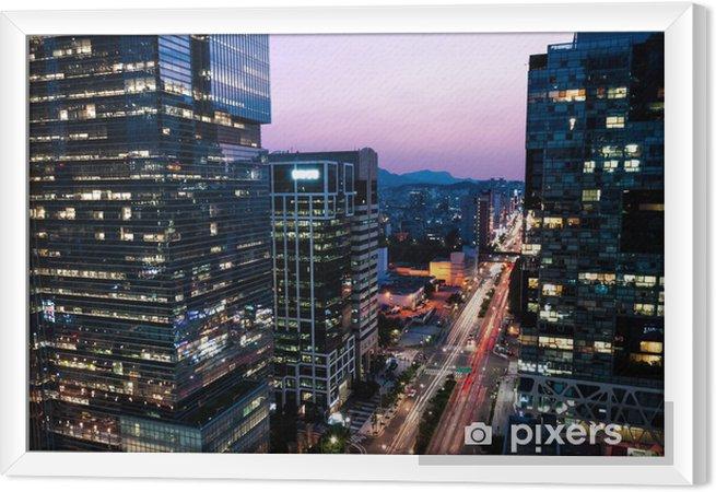 Tableau encadré Gratte-ciel de Gangnam - Thèmes