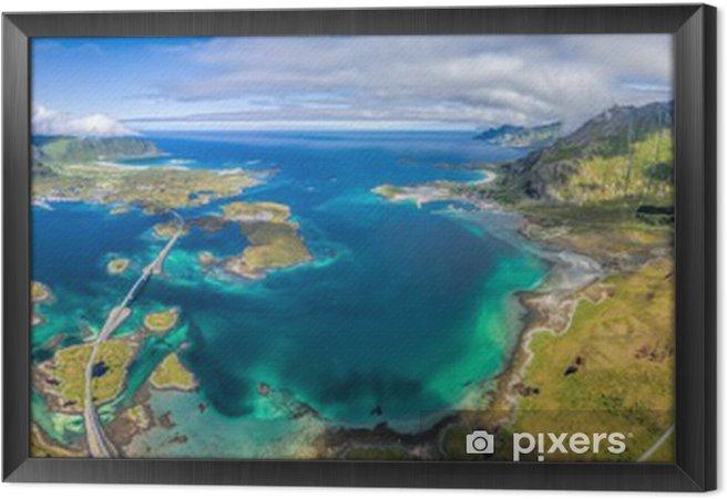 Tableau encadré Lofoten Panorama - Paysages