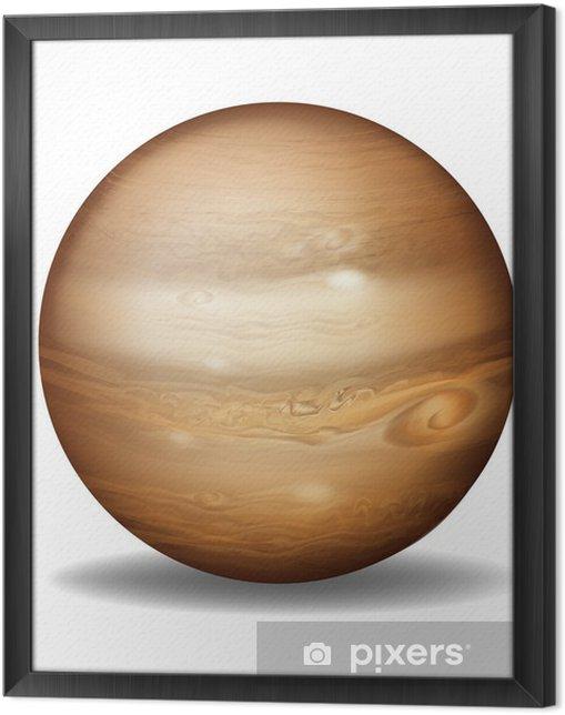 Tableau encadré Planète Jupiter - Autres