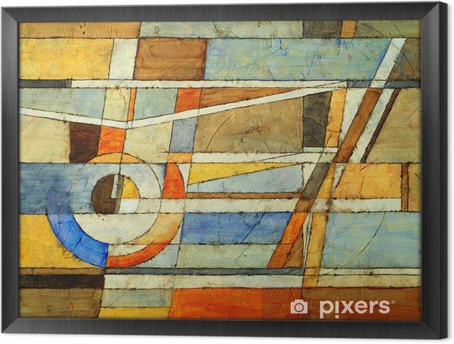 Tableau encadré Une peinture abstraite - Art et création