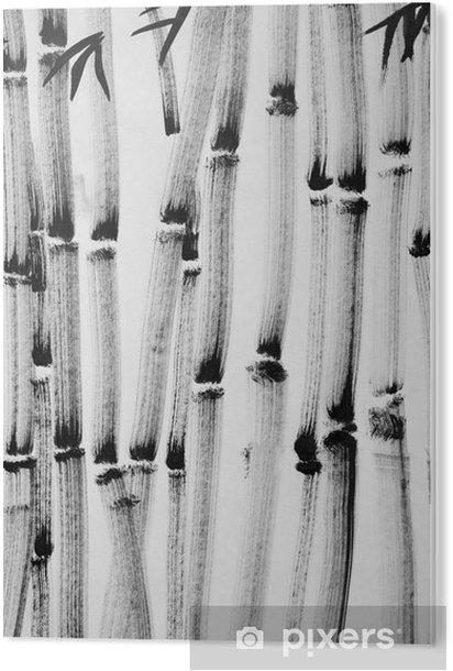 Tableau Plexiglas Bambou foret - Passe-temps et loisirs