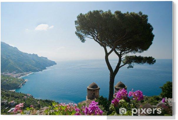 Tableau Plexiglas Côte d'Amalfi vue - Thèmes