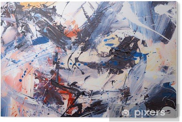 Tableau Plexiglas Öl gemalter abstrakter hintergrund - Ressources graphiques