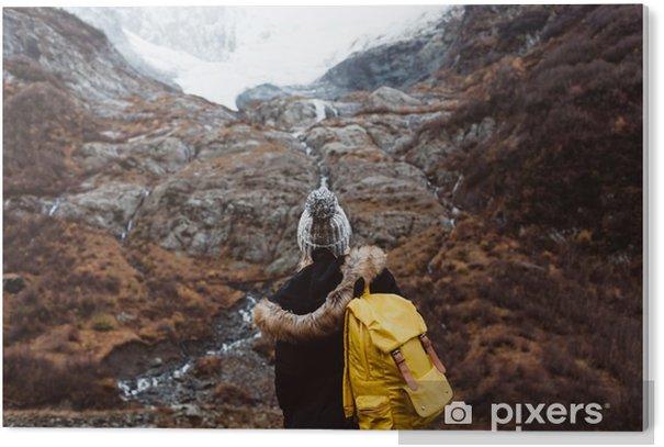 Tableau Plexiglas Voyager dans les montagnes - Passe-temps et loisirs