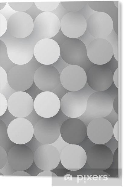 Tableau PVC Cercles plats sans soudure - Ressources graphiques