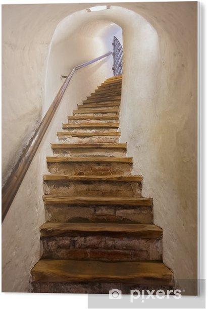 Tableau PVC Escaliers dans le château de Kufstein - Autriche - Styles