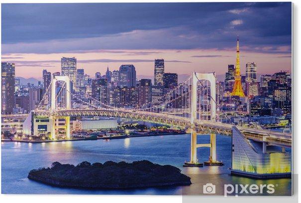 Tableau PVC La baie de Tokyo -