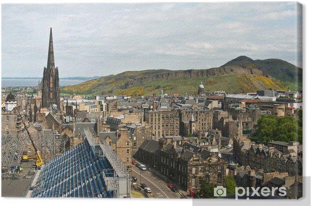 Tableau sur toile Вид со стены Эдинбургского замка - Thèmes