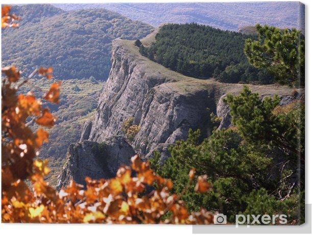 Tableau sur toile Осень в горах - Sports d'extérieur