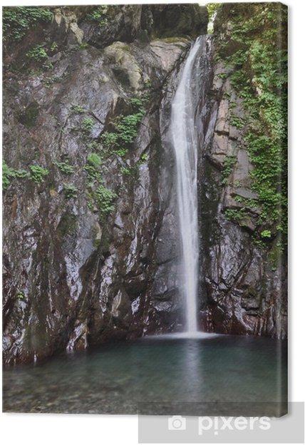 Tableau sur toile エ ビ ラ 沢 の 滝 - Merveilles naturelles