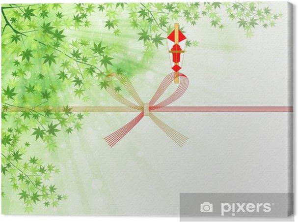 Tableau sur toile 葉 の し の し 紙 - Évènements nationaux