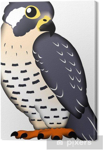 Tableau sur toile ハ ヤ ブ サ - Oiseaux
