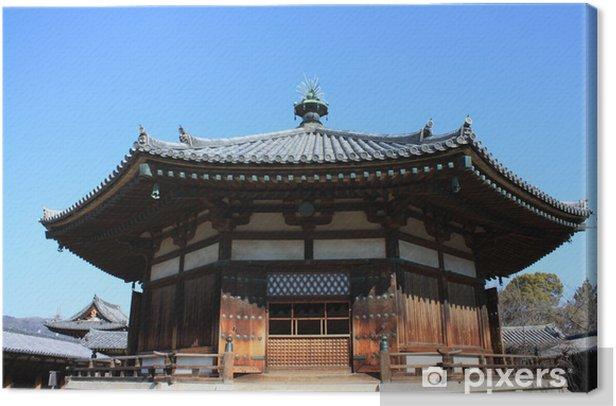 Tableau sur toile 法 隆 寺 の 夢 殿 - Bâtiments publics