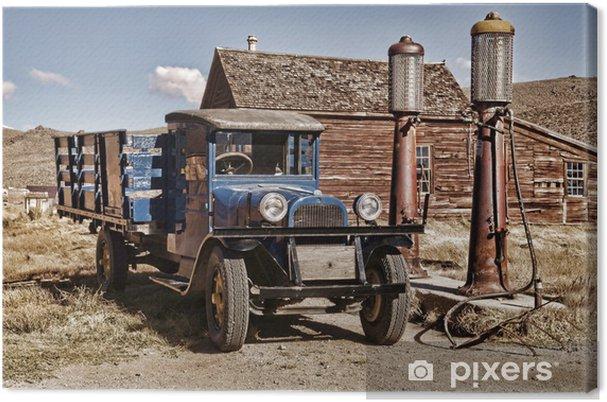 Tableau sur toile 1927 camion - Sur la route