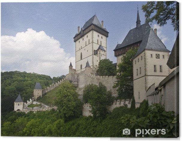 Tableau sur toile A l'intérieur du château de Karlstein - Monuments