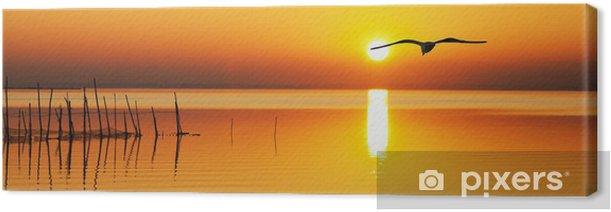 Tableau sur toile À la recherche du soleil levant - Vacances