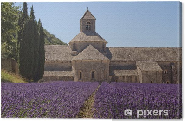 Tableau sur toile Abbaye de Sénanque (Provence, France) - Europe
