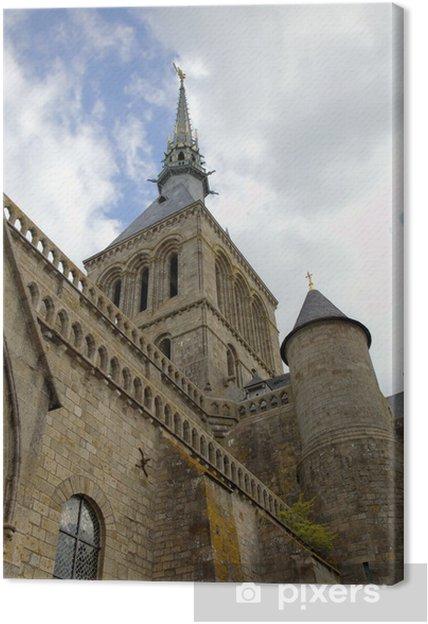 Tableau sur toile Abbaye du Mont Saint Michel, Normandie, France - Thèmes