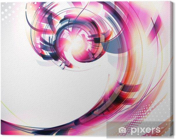 Tableau sur toile Abstract Background. Vecteur - Arrière plans