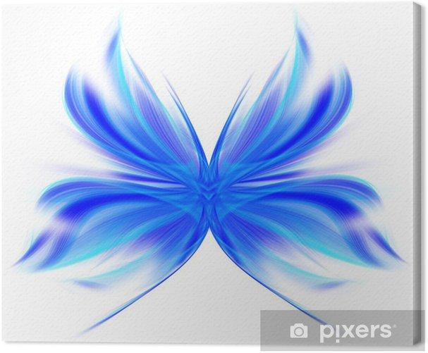 Tableau sur toile Abstract butterfly - Autres Autres