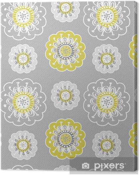Tableau sur toile Abstract Floral Background - Arrière plans