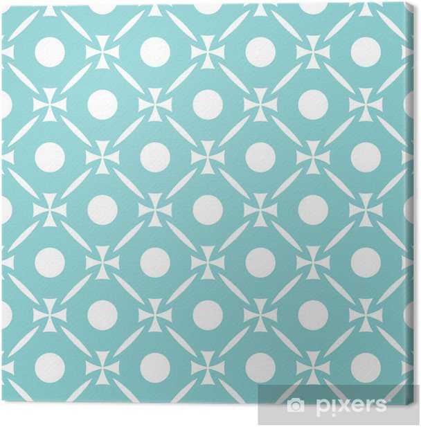Tableau sur toile Abstract seamless pattern - Arrière plans