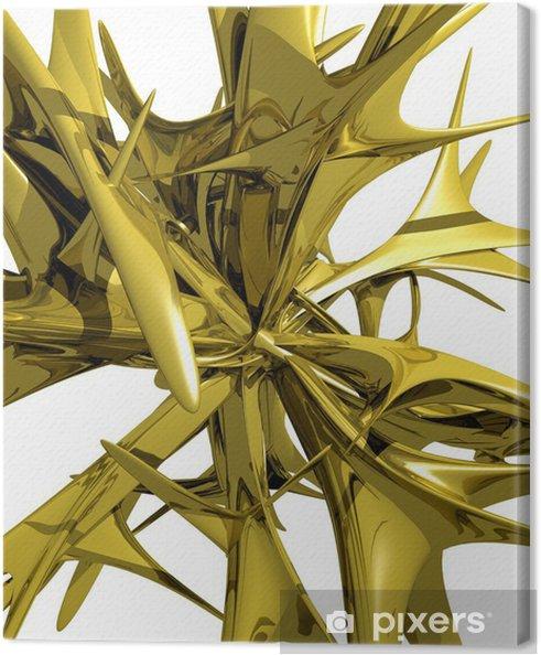 Tableau sur toile Abstraction - Abstrait