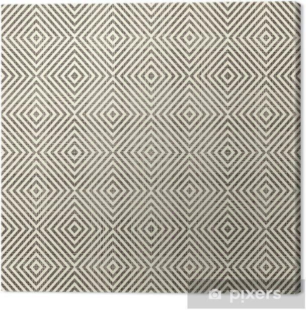 Tableau sur toile Abstrait géométrique rétro fond transparent - Arrière plans