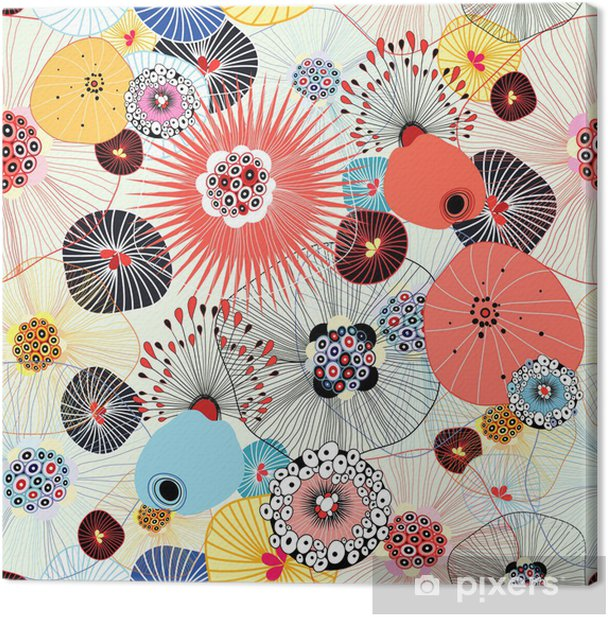 Tableau sur toile Abstrait texture - Styles