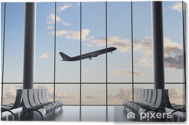 Tableau sur toile Aéroport intérieur - Infrastructures