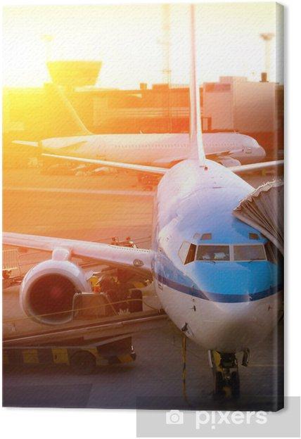 Tableau sur toile Aéroport - Dans les airs