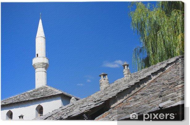 Tableau sur toile Afficher mosquée - Europe