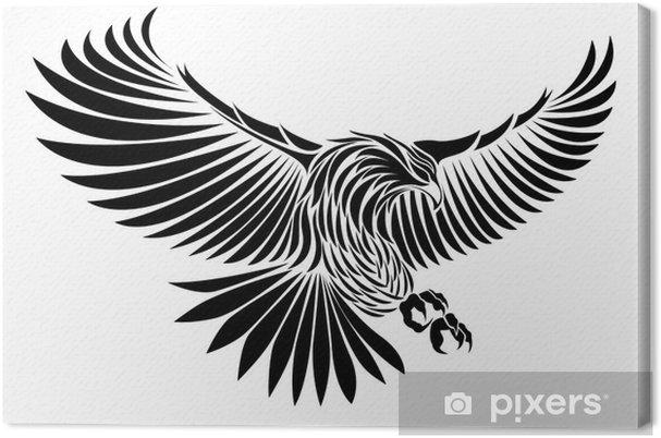 Tableau sur toile Aigle - Sticker mural