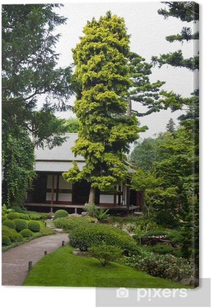 Tableau sur toile Albert Khan - jardin japonais - Villes européennes