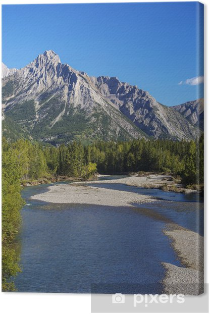 Tableau sur toile Alberta Kananaskis - Montagne