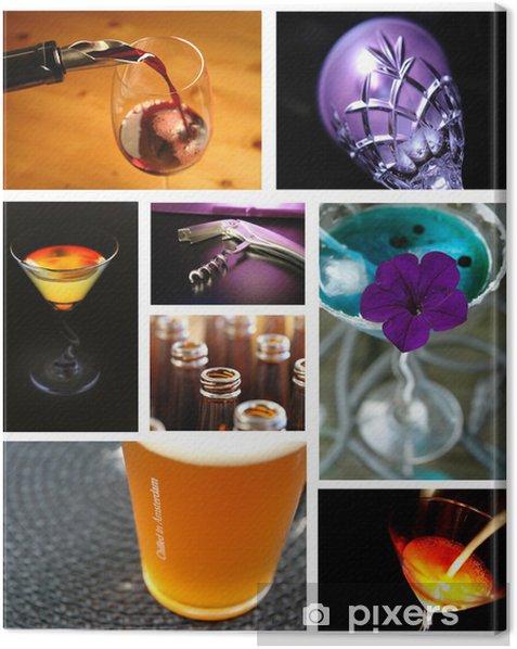 Tableau sur toile Alcool - Alcool