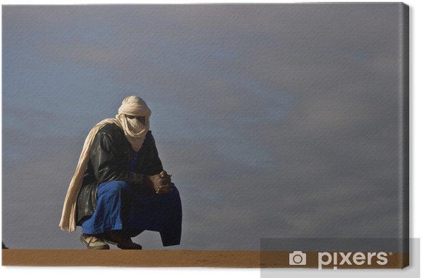 Tableau sur toile Algérie, randonnée dans la Tadrart rouge - Vacances