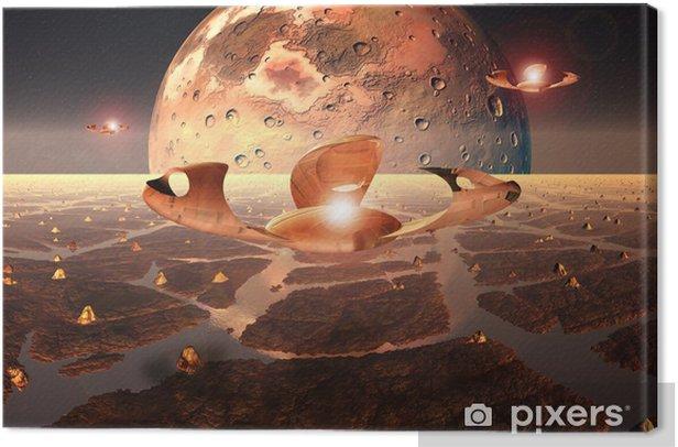 Tableau sur toile Alien Planet - Nature et régions sauvages