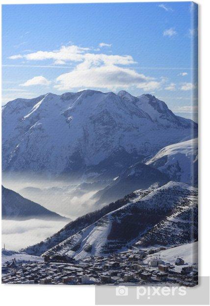 Tableau sur toile Alpe D Huez - Vacances