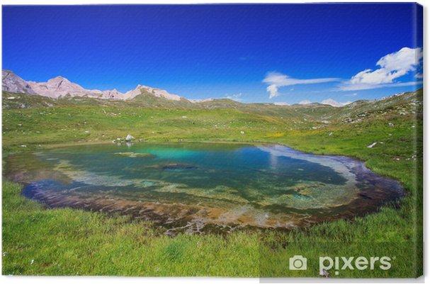 Tableau sur toile Alpes italiennes .... Haute Pomatt - Europe