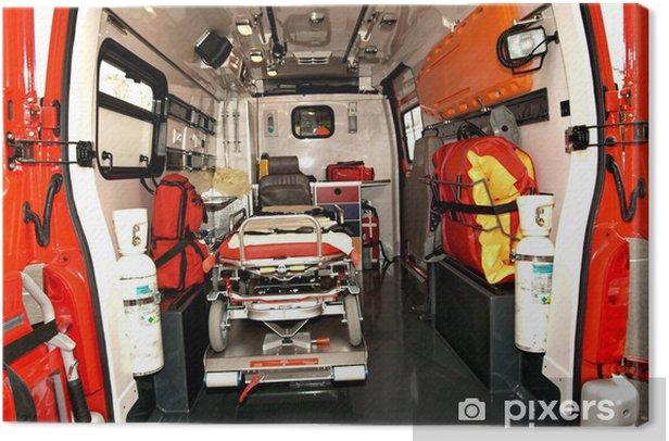 Tableau sur toile Ambulance - Santé et médecine