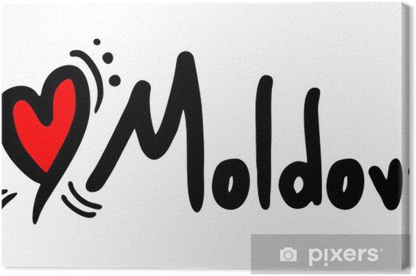 Tableau sur toile Amour Moldavie - Autres sentiments
